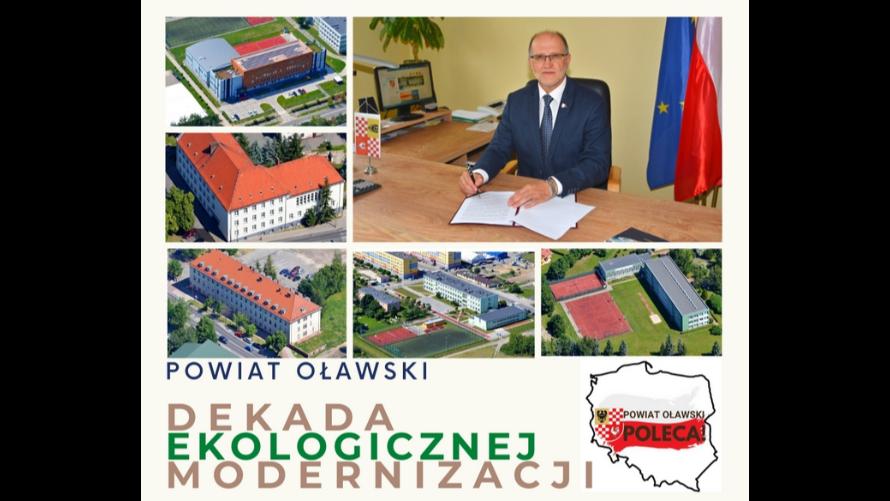 Innowacyjny Powiat Oławski stawia na rozwój technologii przyjaznych środowisku